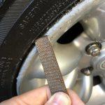 ローバーミニ:前のオーナーのホイールガリ傷を直す。〜アルミパテ削り編〜