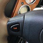 ローバーミニ:スミ入れでクラクションスイッチをおしゃれにする。