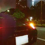 ケイマン:夜中の東京をポルシェで流してみる。