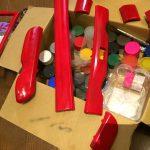 ケイマン:内装トリムを赤くしたい。~塗装編~