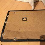 ローバーミニ:内装ドア内張りのベージュレザー貼り替え。~ドア分解編~