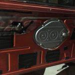 ローバーミニ:内装ドア内張りのベージュレザー貼り替え。~取り付け編~