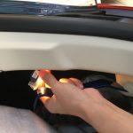 パナメーラ:内装をLED化してみる。~リヤラゲッジランプ。ここにもコネクタ問題が。~