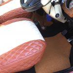 ローバーミニ:久々のつゆだくDIY。1200円で綺麗なカーペットに交換してみる。
