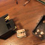 ローバーミニ:接触不良トラブルのハザードランプスイッチをいい加減直す。~後編~