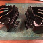 ローバーミニ:ドリンクホルダーを新しくガッシリしたものに換えてみる。~組み立て編~