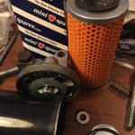ローバーミニ:次はオイルフィルター周りのオイル漏れだ!これで終われイタチごっこ。~フィルター交換と取り付け編~