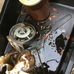 ローバーミニ:次はオイルフィルター周りのオイル漏れだ!これで終われイタチごっこ。~症状と分解編~