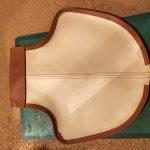 ローバーミニ:内装レザー化。サイドブレーキブーツ(カバー)作成。~縫製編~