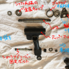 ローバーミニ:フロントサスペンションをスプリングに交換する。~アッパーアーム分解の後編~