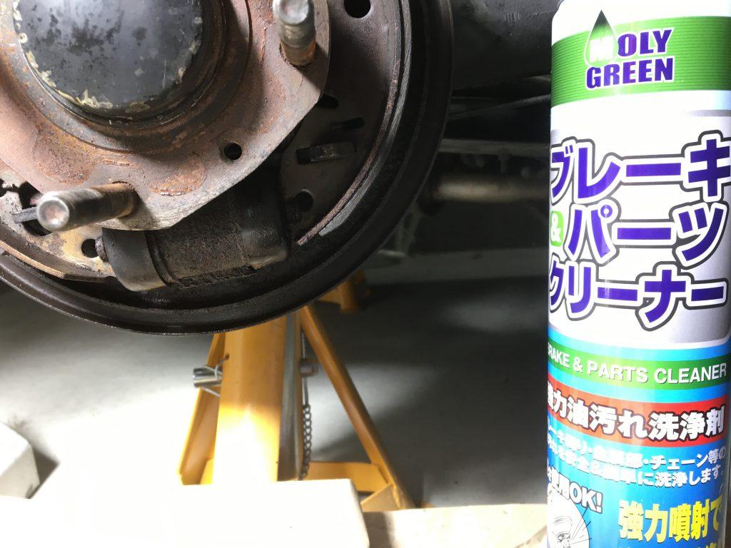 ローバーミニのリヤドラムブレーキシリンダー