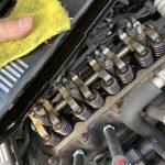 ローバーミニ:ロッカーカバーガスケット交換とタペット調整をやってみる。~ロッカーカバーとプーリーカバー分解編~