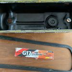 ローバーミニ:ロッカーカバーガスケット交換とタペット調整をやってみる。~ガスケット交換編~